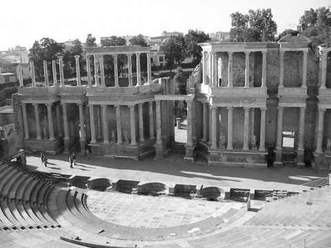 Fig. 1. Roman theatre of Augusta Emerita.