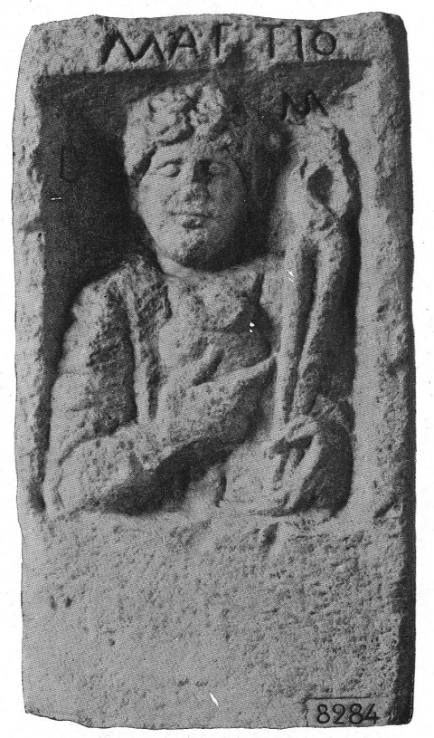 Fig. 12. Autun, stèle de Martio