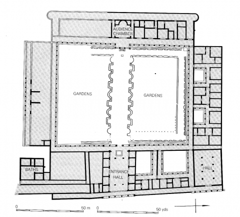 Fishbourne Roman Palace Floor Plan Best Free Home