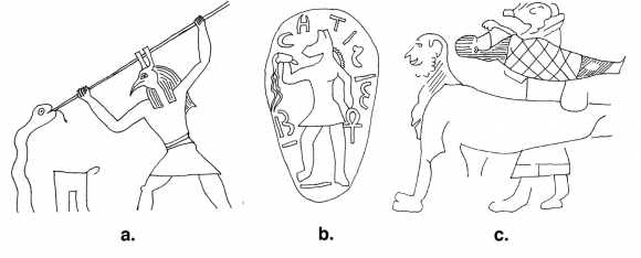 Gods On Small Things Egyptian Monumental Iconography On Late