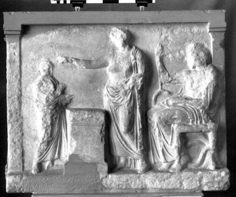 Fig. 3. Athènes, Musée national, inv. 1338 : photo Lorenz E. Baumer.