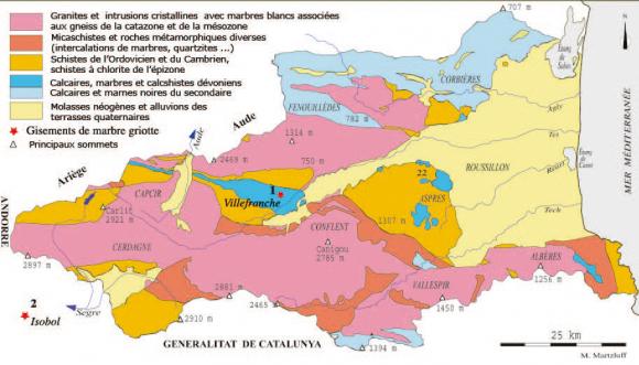 Le Marbre Griotte Des Pyrenees Orientales Carrieres Et Monuments Xie Au Xxe Siecle