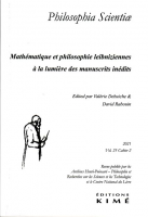 Couverture de Philosophia Scientiae 25-2