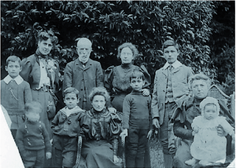 Hugh MacColl and his family in 190730