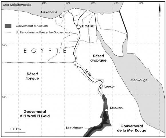 Les risques naturels dans le gouvernorat d'Assouan (Égypte) : le rôle du Haut Barrage