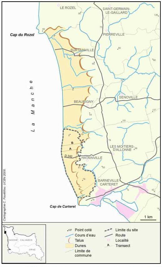 L'assèchement des dépressions dunaires du littoral du
