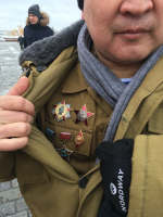Decorated Sniper from the Tuva Republic, Moscow, 15 February 2019