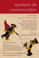 Couverture Questions de communication 30