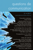 Couverture Questions de communication 31