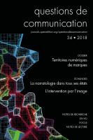 Couverture Questions de communication 34