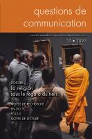 Couverture du n° 37 | juin 2020