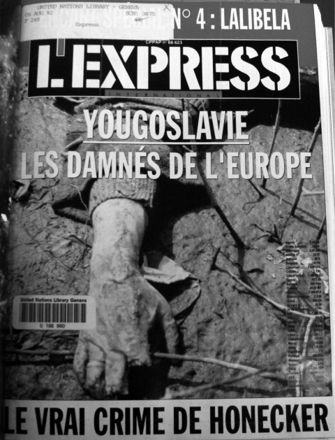 Photographie 5 : L'Express, 14/08/92.