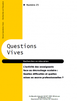 Questions Vives N° 25