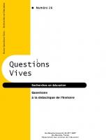 Questions à la didactique de l'histoire
