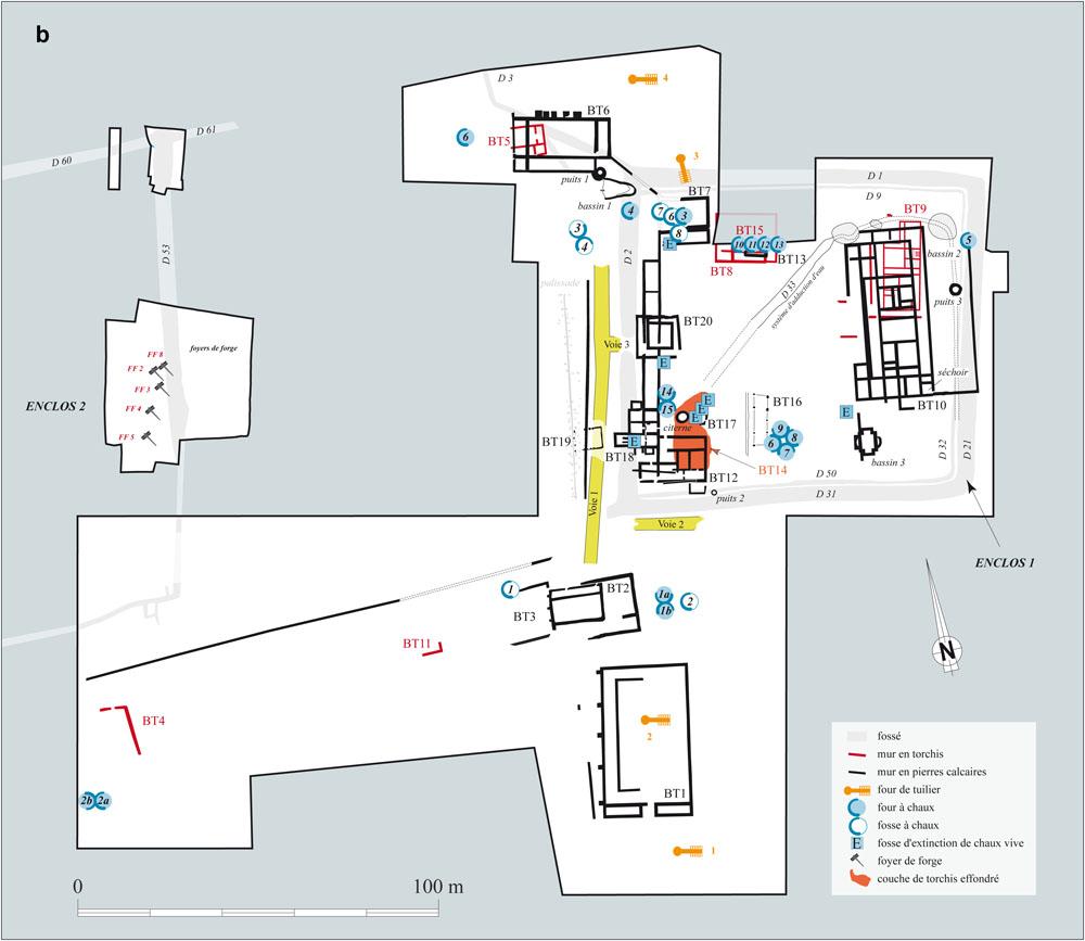 La Production De Terres Cuites Architecturales En Gaule Et Dans L