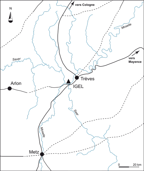 Fig. 1 : La région d'Igel
