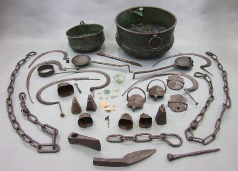 Le d p t gallo romain d objets m talliques de soulce - Cuisine de la rome antique ...