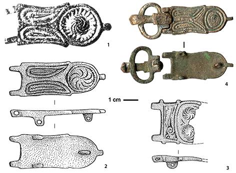 bc3a6b9c0c66 Plaques-boucles byzantines et apparentées de la période VIe-VIIIe ...