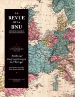 Couverture de La Revue de la BNU, n°16 | 2017