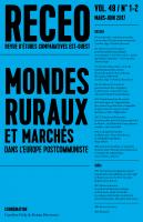Couverture de la Revue d'études comparatives Est-Ouest (RECEO), vol. 48, n° 1-2 (2017)