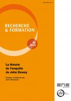 Couverture Recherche et formation