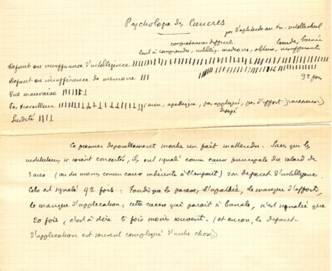 Original manuscrit Feuillet 7