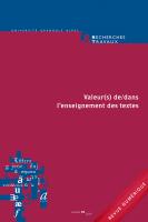 Recherches & Travaux, n° 94 (2019)