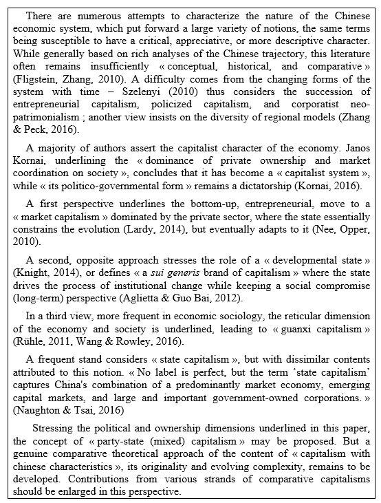 Ownership Transformation And System Change In China