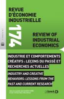 REI 174 | Industrie et comportements créatifs : leçons du passé et recherches actuelles