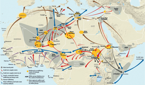 Mapping the Migratory Movements