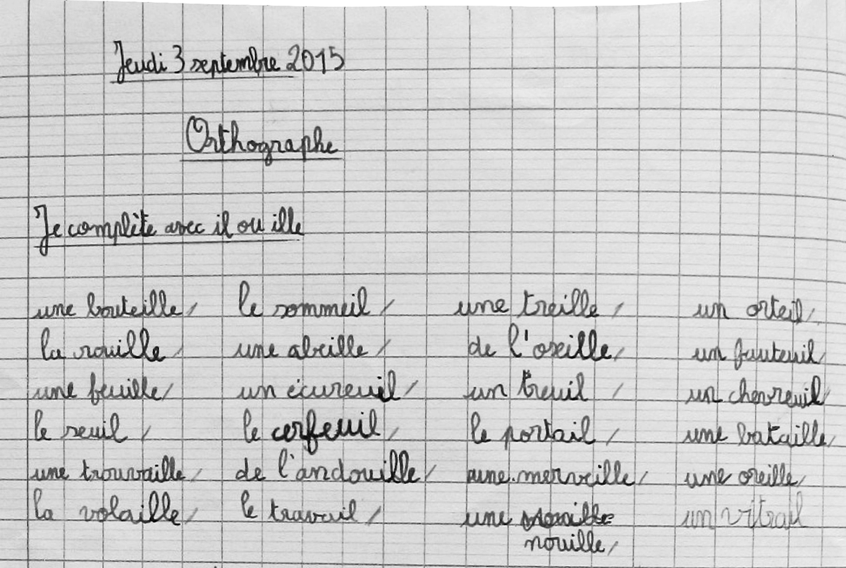 Les Exercices A L Ecole Elementaire Et L Apprentissage De La Langue Quelle S Realite S