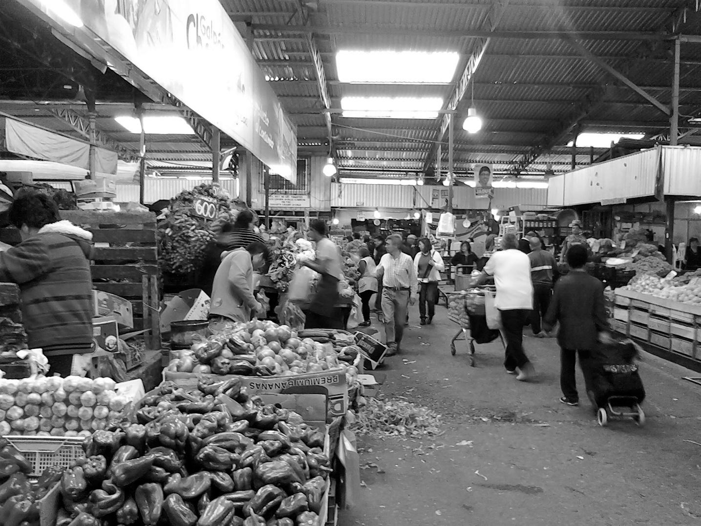 Espacios de intercambio comercial en Santiago de Chile: tres maneras ...
