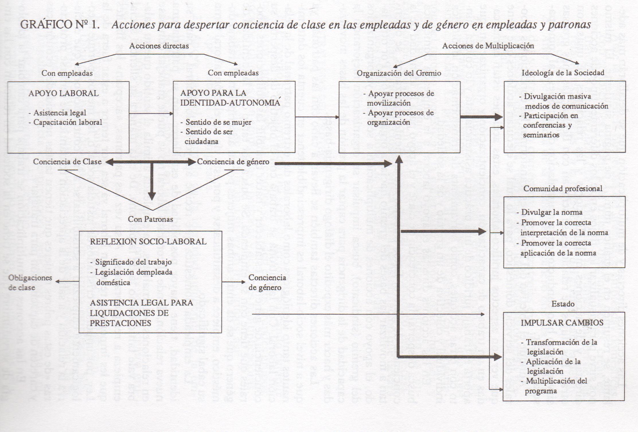 Proyecto De Investigación Acción Trabajo Doméstico Y