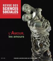 Couverture de Revue des sciences sociales, n°58 | 2018
