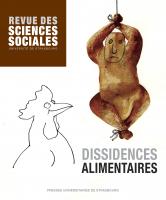 Couverture de Revue des sciences sociales, n°61 | 2019, Dissidences alimentaires