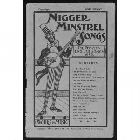 Newcomb's minstrels were an American group who had great success touring Britain.
