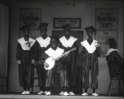 Uncle Mack's Minstrels still played at the seaside in Brighton in the 1930s.