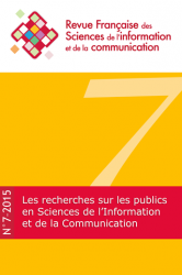 Couverture RFSIC n°7