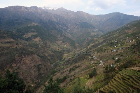 Figure 5. Middle mountains. Khari Khola catchment, April 2014