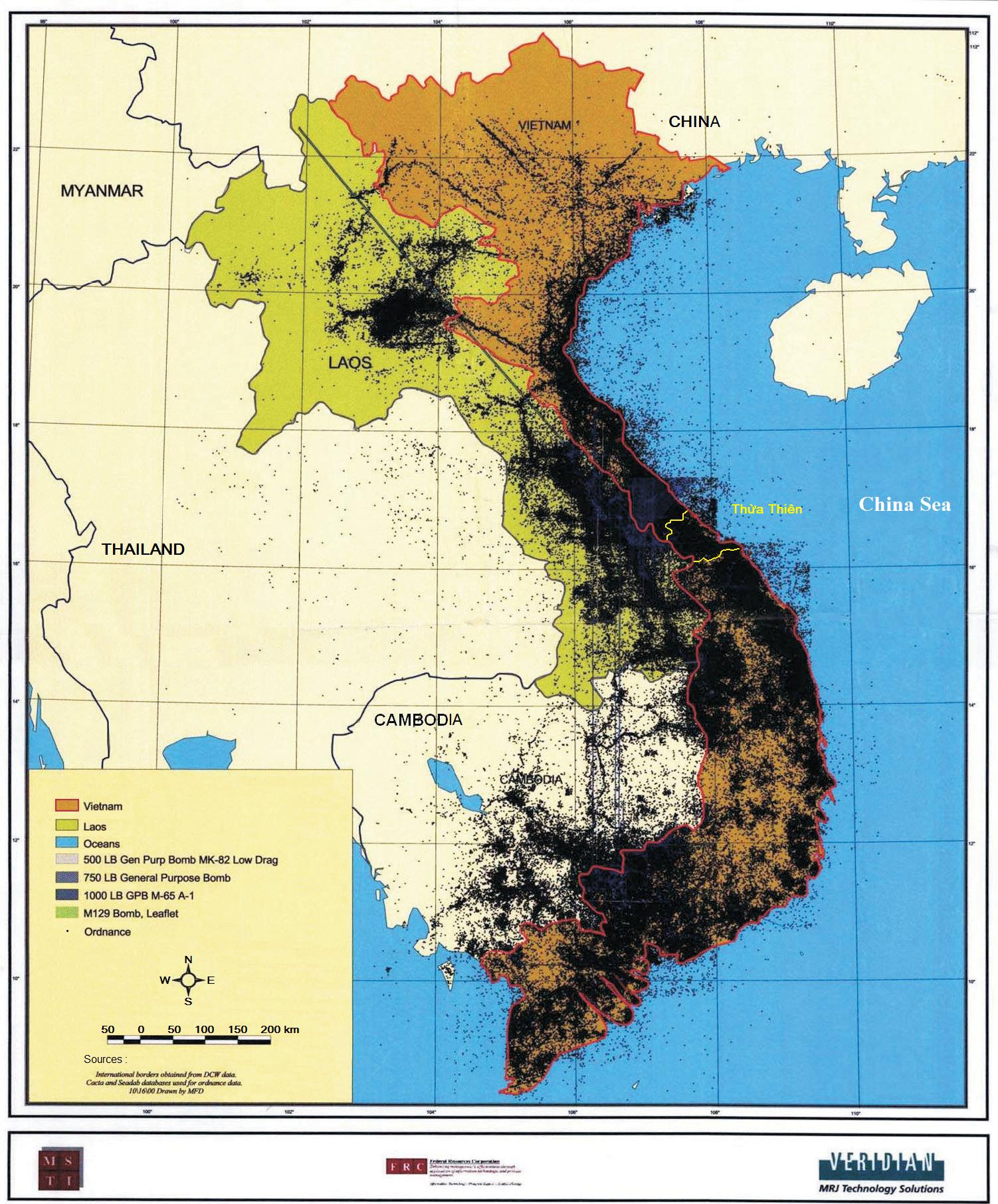 Vietnam War Bombing