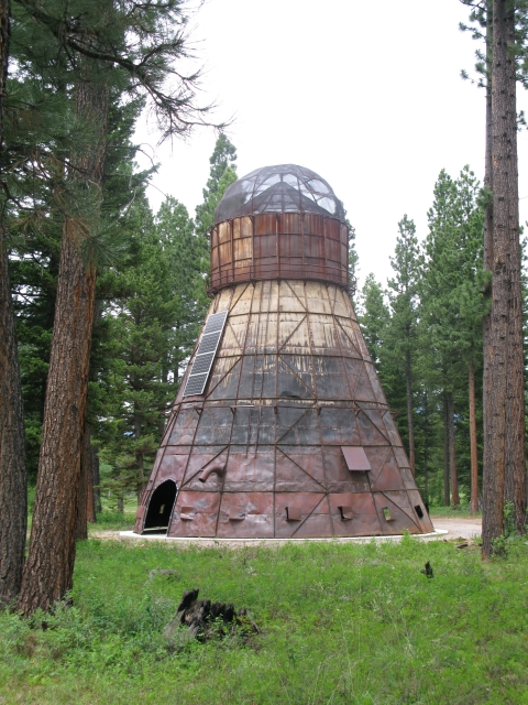 Figure 4. Montana Memory: Re-Imagining the Delaney Sawmill TeePee Burner, 2014-2015. Kevin O'Dwyer (Irlande)