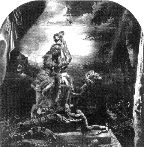 Fig. 6 — Joel-Peter Witkin, Laocoon, photographie. Collection Marco and Corry van der Meij