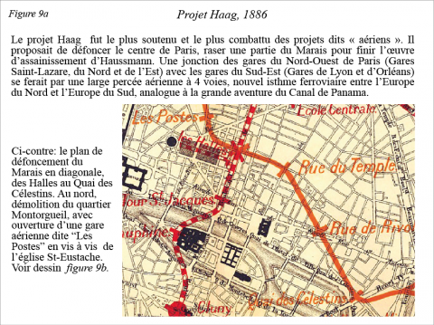 Fig. 9a – Projet Haag, 1886