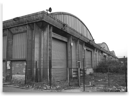 Le paysage ferroviaire en seine saint denis un enjeu Depot halle