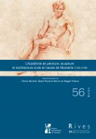 Couverture Rives Méditerranéennes, nº 56. 2018