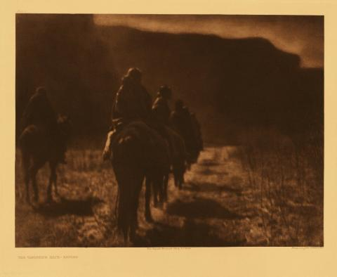 Edward Curtis, The Vanishing Race: Navajo, Portfolio 1:
