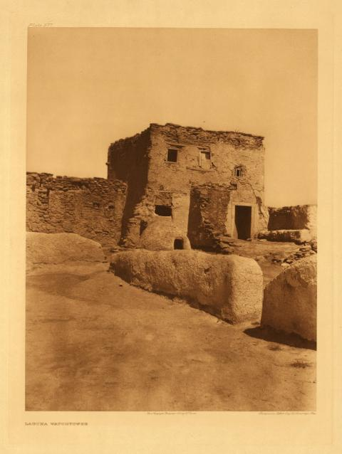 Edward Curtis, Laguna Watchtower, Volume 16: