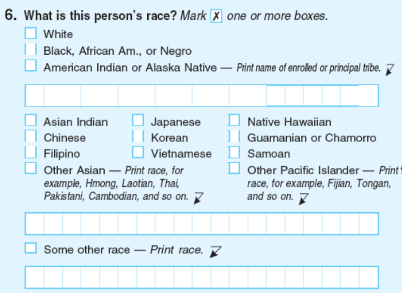 the mark of race essay