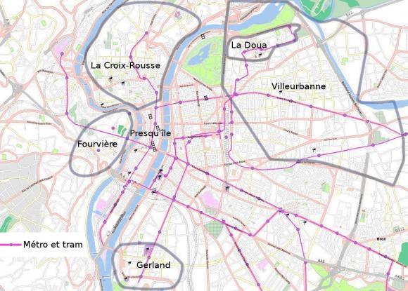 Cartographie des pratiques du Vélo'v : le regard de physiciens et