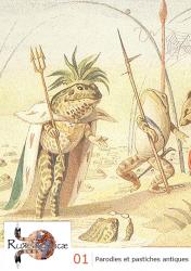 Couverture de Der Froschmäuse Krieg 1878